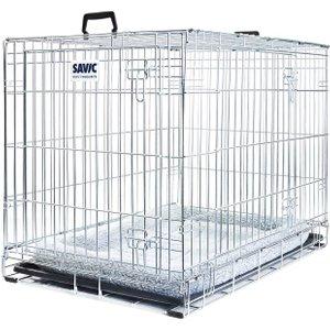 Savic Dog Residence With Cushion - 76 X 53 X 61 Cm  (l X W X H) Pets