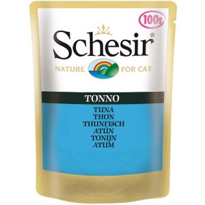 Schesir Pouch Saver Pack 24 X 100g - Adult Tuna With Chicken Fillet Pets