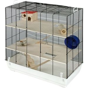 Skyline Fun Area Leon Small Pet Home - White: 67 X  36.5 X  65 Cm (l X W X H) Pets