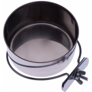 Stainless Steel Bowl With Screw Fitting - 0.56 Litre Pets