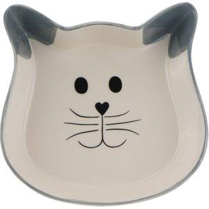 Trixie Cat Face Ceramic Bowl - 0.25 Litre Pets