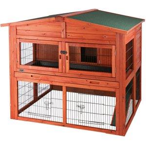 Trixie Natura Small Animal Hutch Xl With Run - 135 X 115 X 112 Cm  (l X W X H) (2 Parcels* Pets