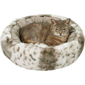 Trixie Plush Cat Bed Leika - Beige - Diameter 50cm Pets