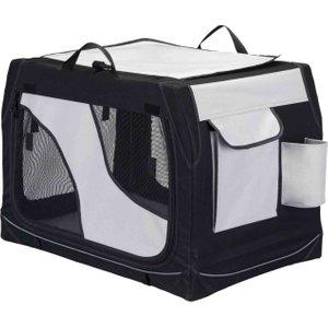 Trixie Vario Mobile Kennel - Size S-m: 76 X 48 X 51 Cm (l X W X H) Pets