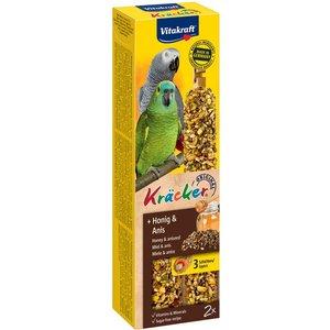 Vitakraft Parrot Cracker Sticks - 2 Honey & Aniseed (180g) Pets