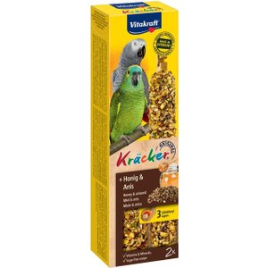 Vitakraft Parrot Cracker Sticks - 3 X 2 Honey & Aniseed (180g) Pets