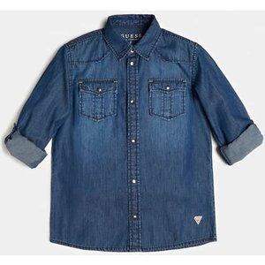 Guess Denim Shirt, Blue