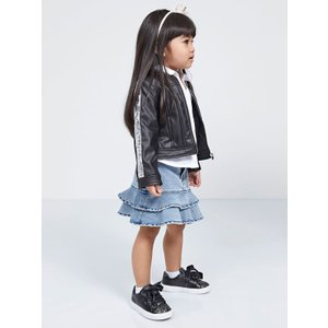 Guess Faux Leather Jacket, Black