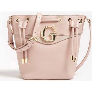 Guess Genevieve Bucket Bag, Pink