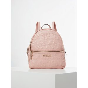 Guess Manhattan Embroidered Logo Backpack, Pink
