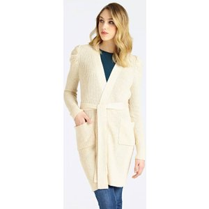 Guess Marciano Belted  Cardigan, White
