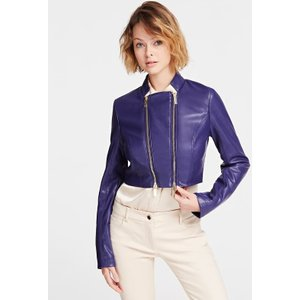 Guess Marciano Cropped Jacket, Blue