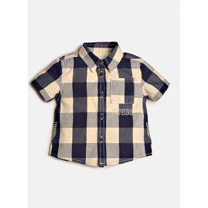 Guess Popeline Shirt, Blue
