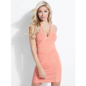 Guess Sleeveless Bandage Dress, Pink
