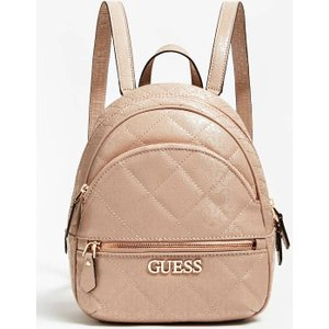 Guess Wilona Quilted Backpack, Pink