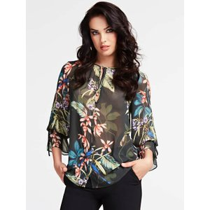 Marciano Guess Marciano Floral Print Blouse, Green