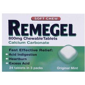 Remegel Chewable 24 Tablets 374892 Web