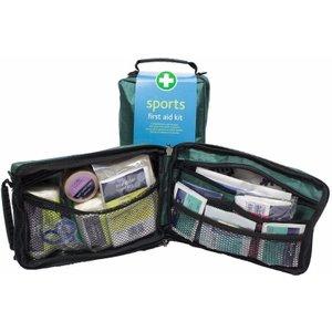 Vivomed Junior Medical Bag - Sports First Aid Kit - Complete - 24cm X 14cm X 9cm Green 158 Health, Green