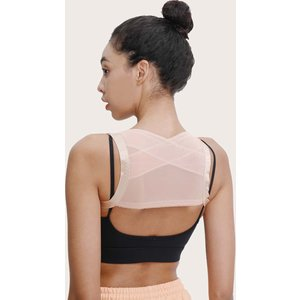 Shein 1pc Adjustable Humpback Correction Belt Apricot Sbhealth18201030974 Clothing Accessories, Apricot