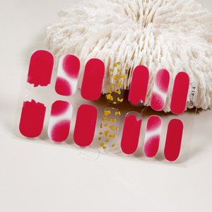 Shein 1sheet Minimalist Nail Sticker Multicolor Sbnailart18200805460 Clothing Accessories, Multicolor