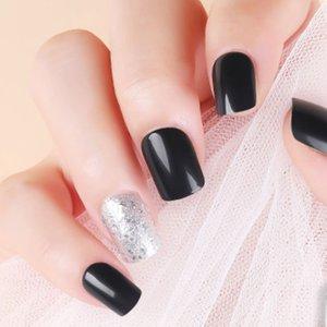 Shein 30pcs Glitter Fake Nail & Side Tape & Nail File Multicolor Sbnailart03191218127 Clothing Accessories, Multicolor