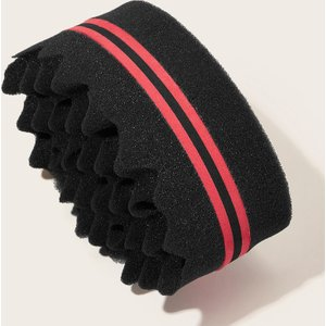 Shein Colour-block Sponge Curler  Sbhair03191114636 Clothing Accessories