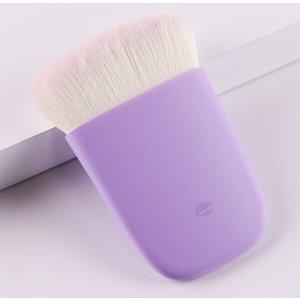 Shein Duo-fiber Makeup Brush Purple Sbbeauty18200421552 Clothing Accessories, Purple