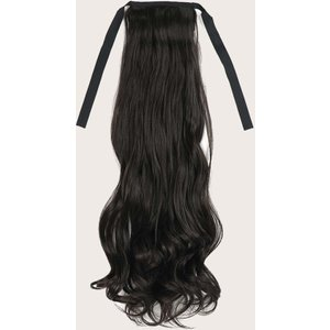 Shein Long Curly Ponytail Hair Extension Black Sbhair18200925073 Clothing Accessories, Black