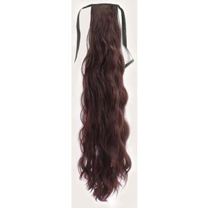 Shein Long Curly Ponytail Hair Extension Rust Brown Sbhair18201109828 Clothing Accessories, Rust Brown
