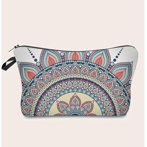 Shein Mandala Print Makeup Bag Multicolor Sbmakeup24201030228 Clothing Accessories, Multicolor