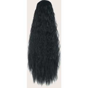 Shein Natural Long Curly Wig Black Sbhair18200923518 Clothing Accessories, Black