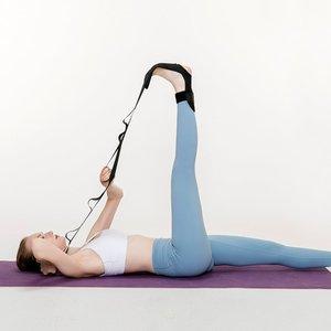 Shein Yoga Leg Resistance Band Black Sbhfcare18200521933 Clothing Accessories, Black