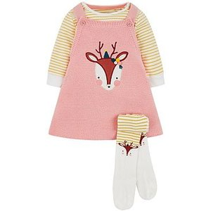Mothercare Mini Club Knitted Dress And Tight Set 8573786
