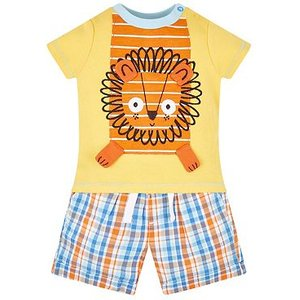 Mothercare Mini Club T-shirt And Short Set 8056080