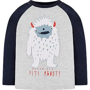 Mothercare Mini Club Yeti T-shirt 8578087