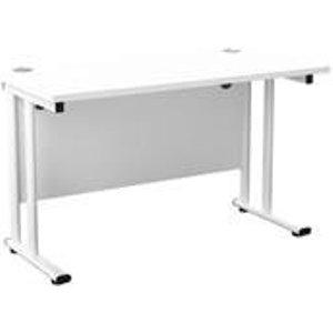 Allegro 1200 X 600 Rectangular Cantilever Workstation White/white