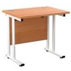 Allegro 800x600 Cantilever Workstation-beech/white Ost8060recclwhbe