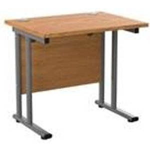 Allegro 800x600 Cantilever Workstation-oak And White Ost8060recclwhok