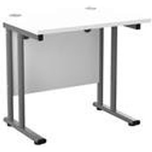 Allegro 800x600 Cantilever Workstation-whitetop/white Ost8060recclwhwh