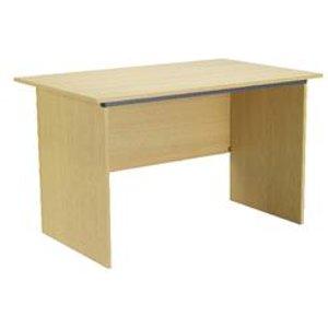 Toccata 1000mm Ferrera Oak Panel End Desk - Kf74126
