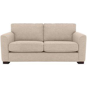 Furniture Village Elora 2 Seater Fabric Sofa - Cream, Cream
