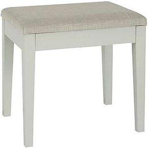 Furniture Village Faye Dressing Table Stool - Grey, Grey