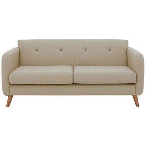 Furniture Village Garrison Lane 3 Seater Fabric Sofa - Cream Zfrsp000000000042021