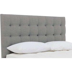 Millbrook - Stroud Floor Standing Headboard - Double - Grey, Grey