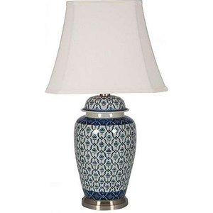 Furniture Village Porcelain Ginger Jar Table Lamp - Pattern