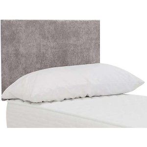 Highgrove - Sleep Story Dahl Strutted Headboard - Single - Grey, Grey