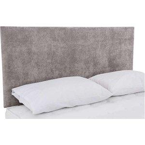 Highgrove - Sleep Story Dahl Strutted Headboard - Small Double - Grey, Grey