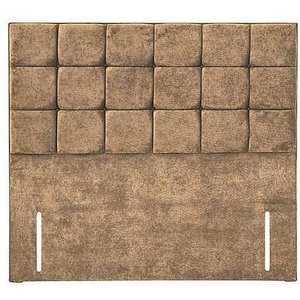 Sleep Story - Milne Floor Standing Headboard - Small Double - Brown Zfrsp000000000027622