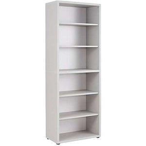 Furniture Village Techno Bookcase - Grey, Grey