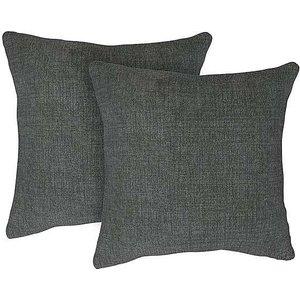 The Lounge Co. - Isobel Pair Of Large Fabric Cushions - Grey Zfrsp000000000041248